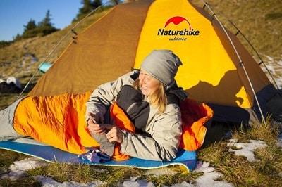 Túi ngủ Naturehike đa dạng về chủng loại sản phẩm