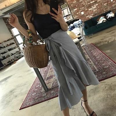 Váy quấn: Những kiểu phối áo thun với váy quần với áo đẹp mê ly - Ảnh 14