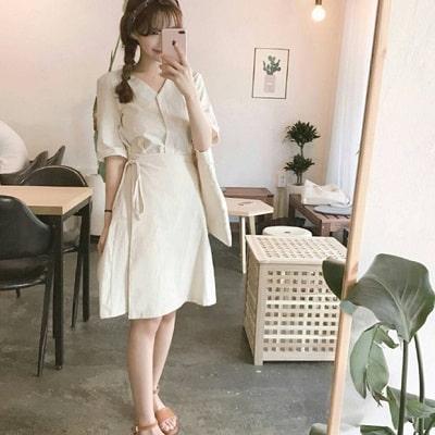 Váy quấn: Những kiểu phối áo thun với váy quần với áo đẹp mê ly - Ảnh 19