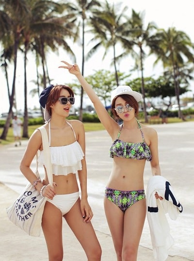 Bikini cho người gầy lép