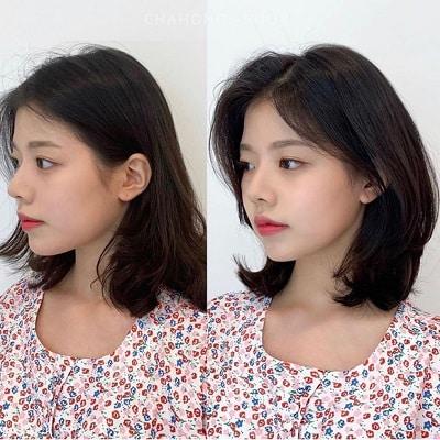 """Thêm một ca """"lột xác"""" ngoạn mục với kiểu tóc bob tỉa layer của Suzy. So với kiểu tóc uốn xoăn trước đó thì kiểu tóc mới vừa duyên dáng lại vừa thời trang hơn hẳn."""