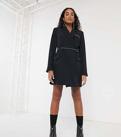 Blazer dress black