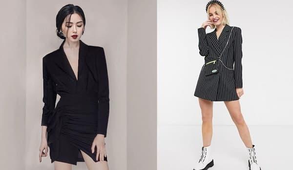 Kiểu blazer dress 2020 sang chảnh cho nữ công sở