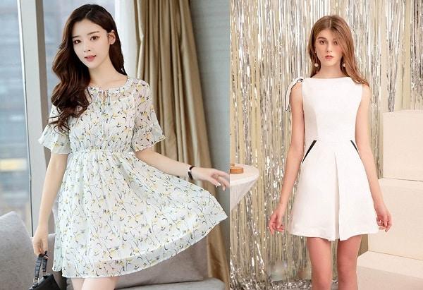Kiểu đầm công sở Hàn Quốc đẹp nhất 2020