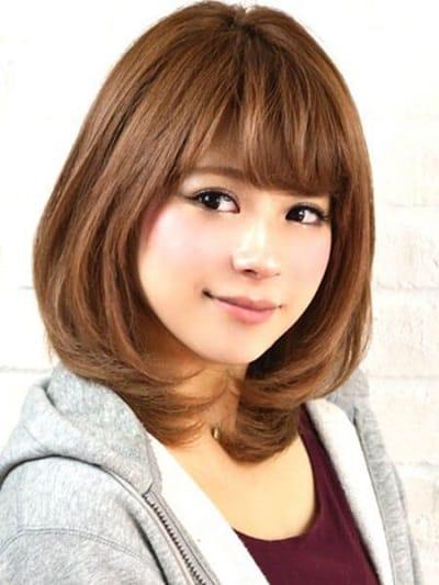 Tóc ngắn Hàn Quốc màu ombre