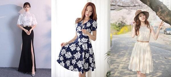 """Mẫu đầm đẹp mang """"Style Hàn Quốc"""""""
