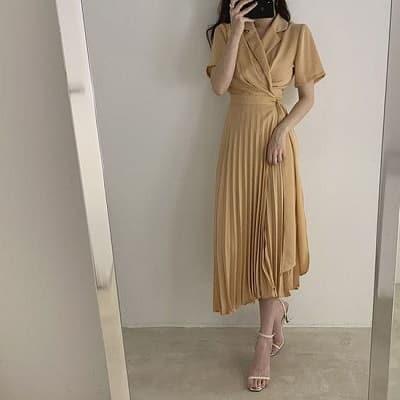 Váy midi dáng dài