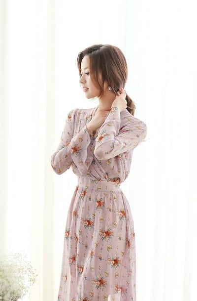 Diện váy voan xinh như những cô gái Hàn