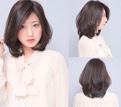 Kiểu tóc xoăn layer giúp bạn hack tuổi cực hiệu quả