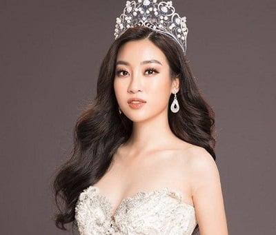 Hoa hậu Đỗ Mỹ Linh thường xuyên lựa chọn kiểu tóc này dự tiệc