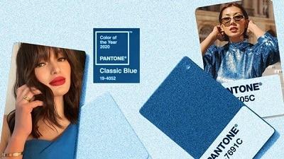 Màu xanh cổ điển có khả năng bắt ánh sáng, tạo độ tương phản để làm nổi bật sản phẩm và nhất là không nhanh lỗi mốt. Trên các sàn diễn thời trang thế giới, classic blue cũng tung hoành, được nhiều nhà thiết kế lựa chọn.