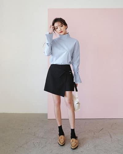 Áo phông tay bồng Hàn Quốc