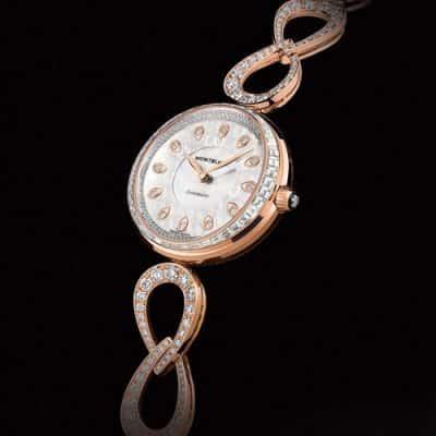 Đồng hồ nữ nạm kim cương