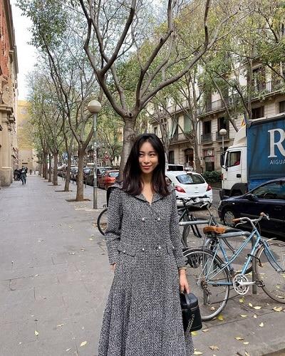 Váy tweed