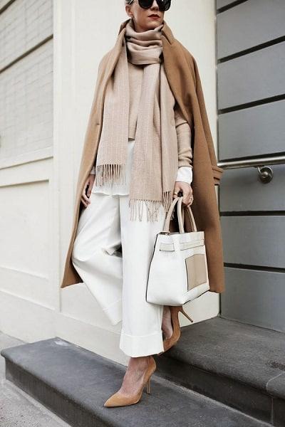 Tone màu trung tín beige chanh xả cho những cô nàng công sở đam mê thời trang