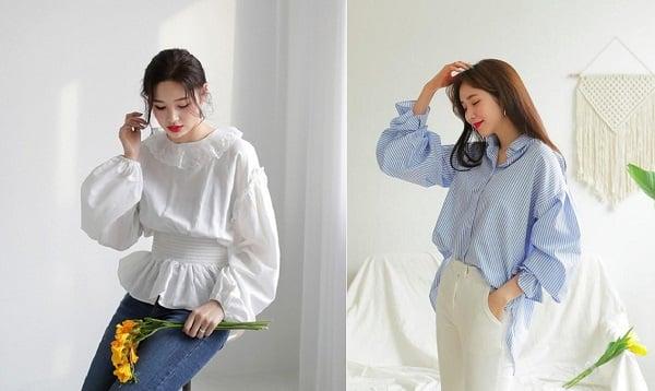 5 Mẫu áo sơ mi 2020 cách điệu diện đi làm cho phái nữ