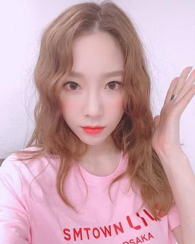 Khi không để tóc mái Taeyeon vẫn đẹp.