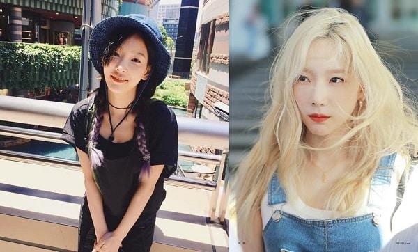 """Màu tóc Taeyeon hay nhuộm: Đen vẫn """"lép vế"""" hơn - Vàng là nổi bật nhất"""