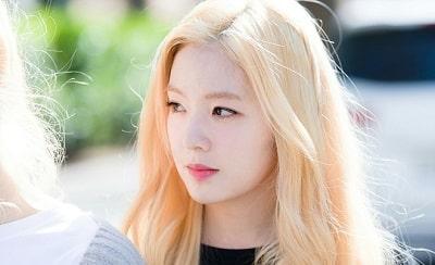 Màu tóc vàng sáng được sao hàn ưa chuộng đẹp nhất 2020