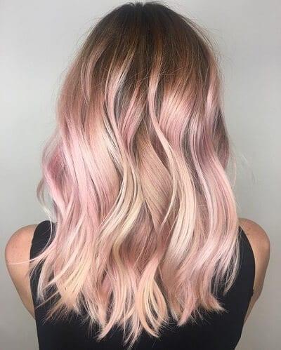 Màu tóc hồng khói được sao hàn ưa chuộng đẹp nhất 2020