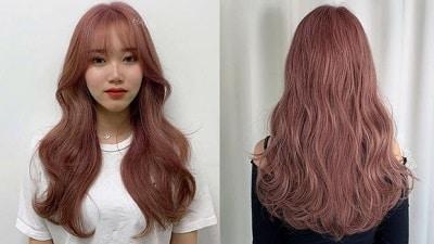 Một vẻ ngoài nữ tính nhẹ nhàng nhưng vẫn vô cùng phá cách là những gì màu tóc này đem lại