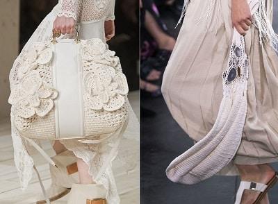 Vải cói đan móc là xu hướng túi xách thịnh hành trong năm 2020