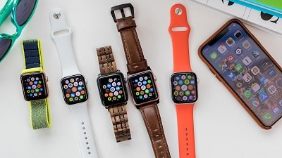 Chọn màu sắc dây đeo Apple Watch theo cá tính
