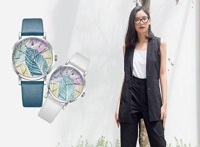 Menswear và đồng hồ dây da
