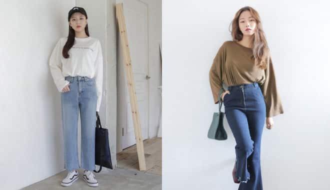 Với những cô gái tương đối tròn và thuộc nhóm hơi béo thì nên diện quần như thế nào là phù hợp?