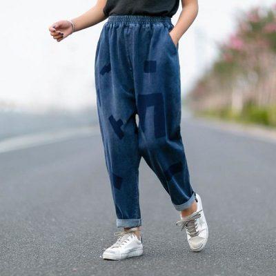 Quần harem giúp phần chân trông sẽ thẳng và gọn hơn, đồng thời cũng hài hòa với tổng thể cơ thể.