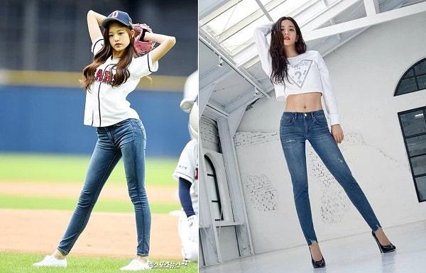 Diện quần jeans bó sát đẹp như Sao Hàn: Jisoo, Jennie đều tuyệt vời