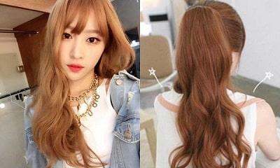 Màu tóc nâu tây khiến bạn trẻ trung hấp dẫn