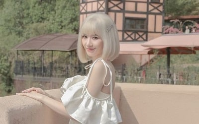 Hari Won gây sốt với màu tóc bạch kim