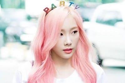 Màu tóc hồng khói