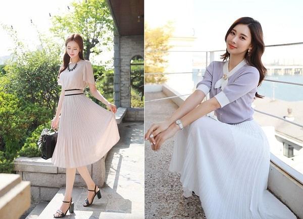 Thời trang hè thu 2020: Váy liền màu trung tính, quần jeans ống đứng vẫn HOT