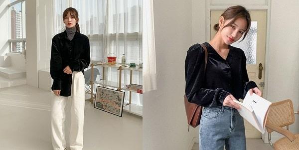 Xu hướng thời trang nhung 2020 cực sang chảnh cho chị em