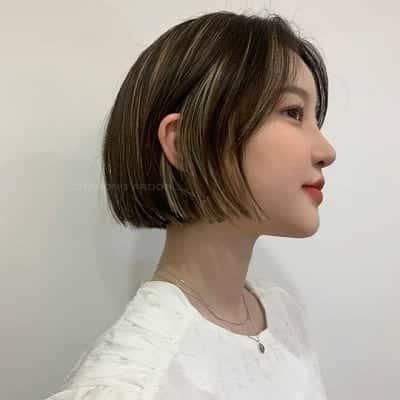 Bạn là một cô nàng cá tính và thích những kiểu tóc ngắn thì không thể bỏ qua tóc blunt bob