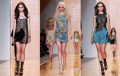 Versace lăng xê phong cách du mục năm 2015