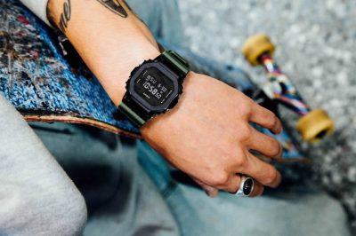 Đồng hồ GM-5600B-3DR cá tính với màu xanh quân đội
