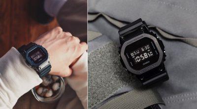 Đồng hồ GM-5600B-1DR ấn tượng với màu đen tuyền mạnh mẽ