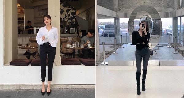 Quần skinny jeans tôn dáng chân thon dài cho phái nữ