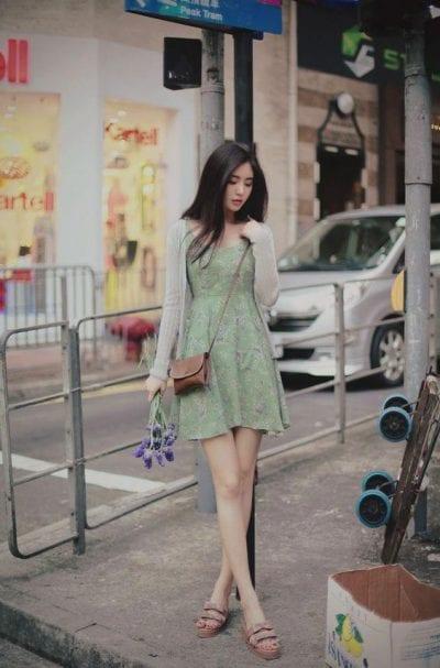 Áo cardigan màu pastel - Ảnh 4