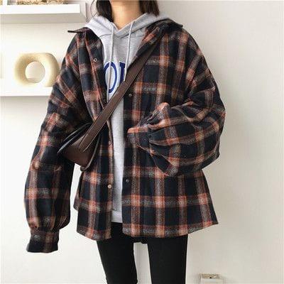 Áo hoodie mỏng cho nữ mix cùng áo khoác - Ảnh 3