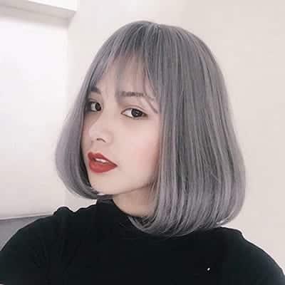 Mẫu tóc ngắn Hàn Quốc ngang vai