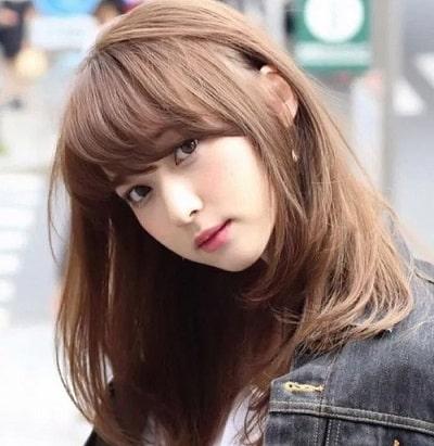 Màu tóc nâu tây trầm lạnh
