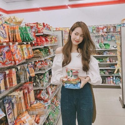 Chụp hình sống ảo tại siêu thị - Ảnh 2