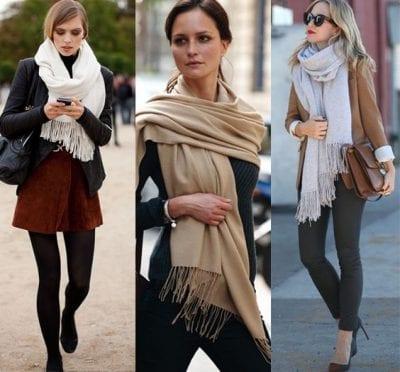 Không những giữ ấm mà còn tạo điểm nhất cho phong cách của bạn nữa đấy.
