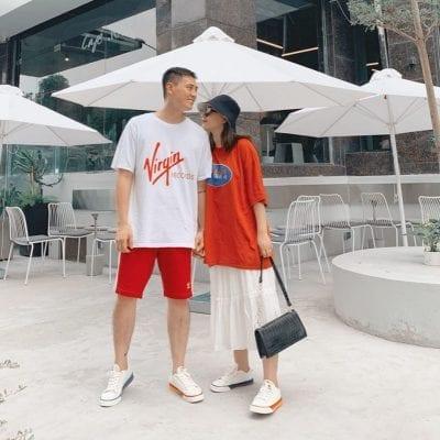 Đồ đôi đi du lịch đẹp theo phong cách Việt Nam - Ảnh 2