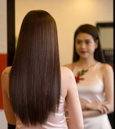 Kiểu tóc màu nâu socola 2020 đẹp - Ảnh 1