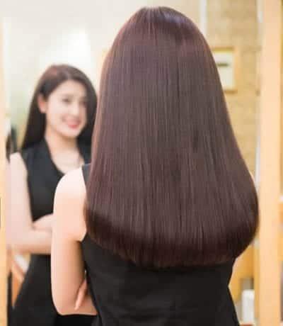 Kiểu tóc màu nâu socola 2020 đẹp - Ảnh 24